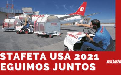 Estafeta USA 2021, seguimos contigo.